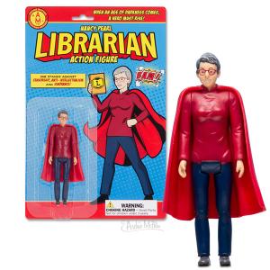 Librarian Nancy Pearl AF